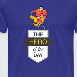 Hero Blue Yellow - Men's Premium T-Shirt