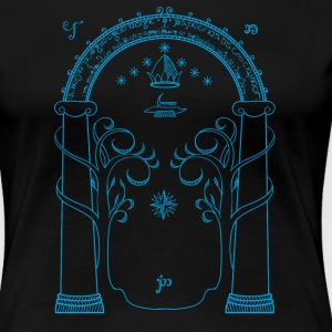 The doors of Durin - Women's Premium T-Shirt