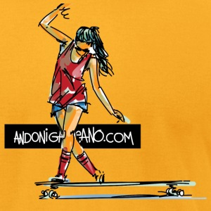 Longboard Dance T-Shirts - Men's T-Shirt by American Apparel