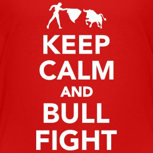 Keep calm and bullfight Kids' Shirts - Kids' Premium T-Shirt