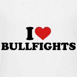 I love Bullfights Kids' Shirts - Kids' Premium T-Shirt