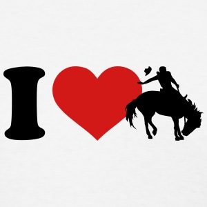 I love Rodeo Women's T-Shirts - Women's T-Shirt