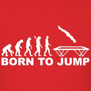 Evolution Trampoline T-Shirts - Men's T-Shirt