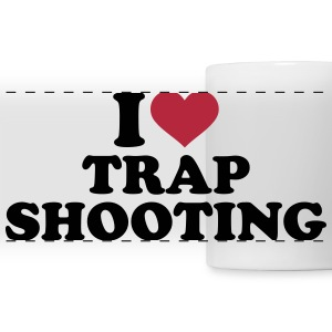 I love trap shooting Mugs & Drinkware - Panoramic Mug