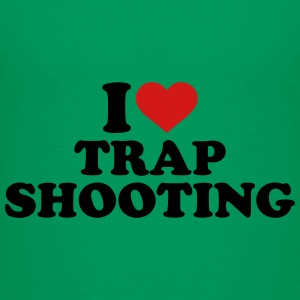 I love trap shooting Kids' Shirts - Kids' Premium T-Shirt