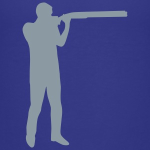 Trap shooting Kids' Shirts - Kids' Premium T-Shirt