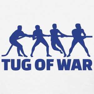 Tug of war Women's T-Shirts - Women's T-Shirt