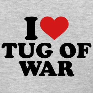 I love Tug of war Women's T-Shirts - Women's T-Shirt