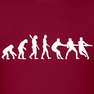 Evolution tug of war T-Shirts - Men's T-Shirt