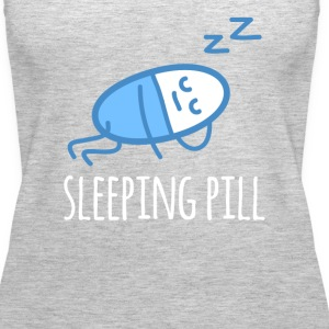 Sleeping Pill Pharmacist T-shirt Tanks - Women's Premium Tank Top