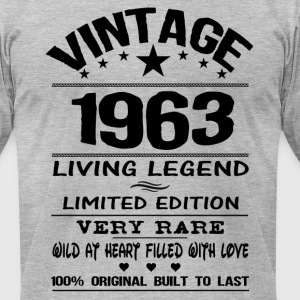 VINTAGE 1963 T-Shirts - Men's T-Shirt by American Apparel