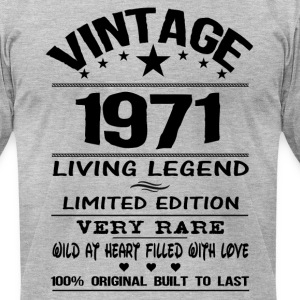 VINTAGE 1971 T-Shirts - Men's T-Shirt by American Apparel