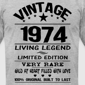 VINTAGE 1974 T-Shirts - Men's T-Shirt by American Apparel