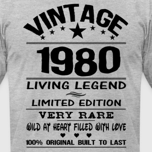 VINTAGE 1980 T-Shirts - Men's T-Shirt by American Apparel