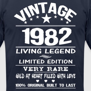 VINTAGE 1982 T-Shirts - Men's T-Shirt by American Apparel