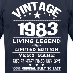 VINTAGE 1983 T-Shirts - Men's T-Shirt by American Apparel