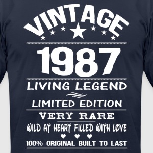 VINTAGE 1987 T-Shirts - Men's T-Shirt by American Apparel