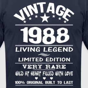 VINTAGE 1988 T-Shirts - Men's T-Shirt by American Apparel