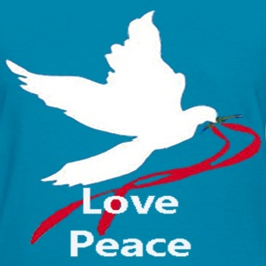 Love Peace, hate war - Women's T-Shirt
