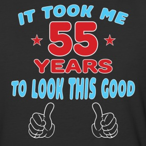 IT TOOK ME 55 YEARS TO LOOK THIS GOOD T-Shirts - Baseball T-Shirt