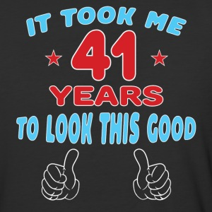 IT TOOK ME 41 YEARS TO LOOK THIS GOOD T-Shirts - Baseball T-Shirt