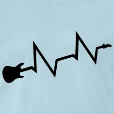 Guitars heartbeat Shirt