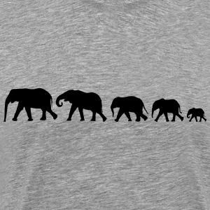 elephant family XXL Shirt - Men's Premium T-Shirt