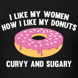 Curvy And Sugary - Men's T-Shirt