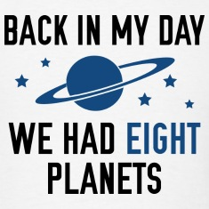 We Had Eight Planets