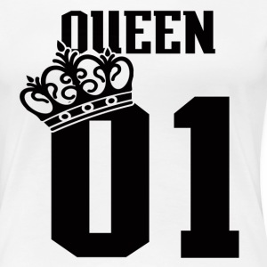 QUEEN-01  - Women's Premium T-Shirt