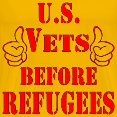 US Vets Before Refugees