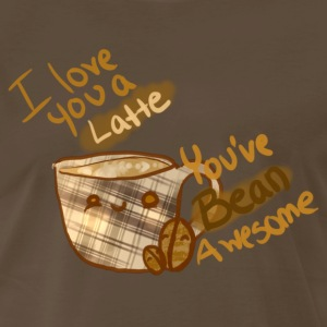 Punny Design-Coffee T-Shirts - Men's Premium T-Shirt