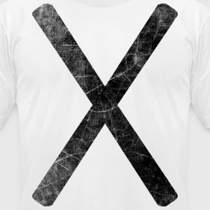 Marks the Spot T-Shirts - Men's T-Shirt by American Apparel
