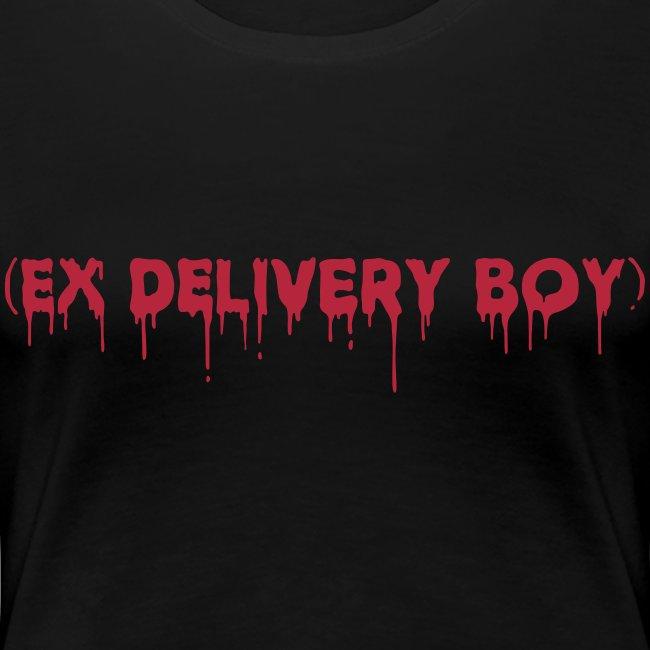 Ex Delivery Boy - Women's Premium Tee