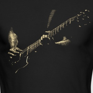 Guitare Long Sleeve Shirts - Men's Long Sleeve T-Shirt by Next Level