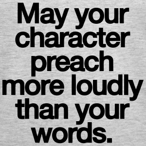 MAY YOU CHARACTER PREACH Tanks - Women's Premium Tank Top