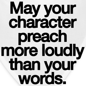MAY YOU CHARACTER PREACH Caps - Bandana
