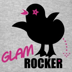 glam rock chick