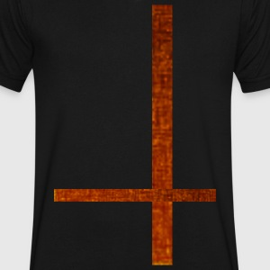 The Scotch Cross by Class_One - Men's V-Neck T-Shirt by Canvas