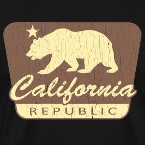 California Republic (vintage park style) - Men's Premium T-Shirt