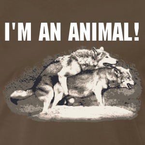 I'm An Animal - Men's Premium T-Shirt