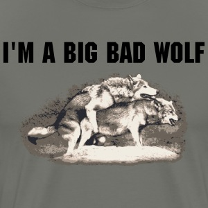 I'm a big bad wolf - Men's Premium T-Shirt