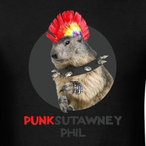 Ground Hog's Day - PUNKsutawney Phil - Men's T-Shirt