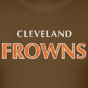 Cleveland Frowns T-Shirt - Men's T-Shirt
