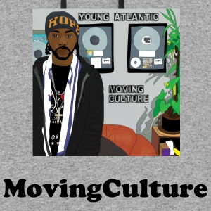 moving culture2 - Colorblock Hoodie