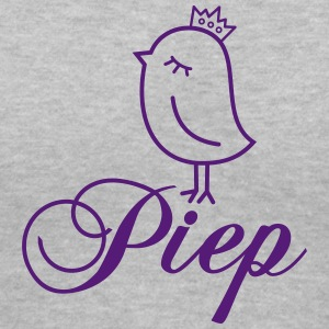 Sparrow with Crown - P. Women's T-Shirts - Women's V-Neck T-Shirt