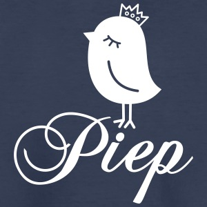 Sparrow with Crown - Piep Kids' Shirts - Kids' Premium T-Shirt