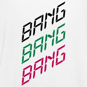 Bang Bang Bang Tanks - Women's Flowy Tank Top by Bella