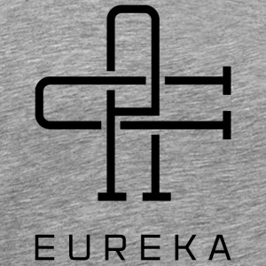 Eureka Californian Monogram - Men's Premium T-Shirt