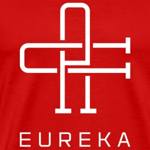 Eureka California White - Men's Premium T-Shirt